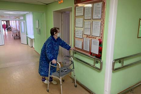 Residents of nursing homes were allowed to visit in the Khabarovsk Territory