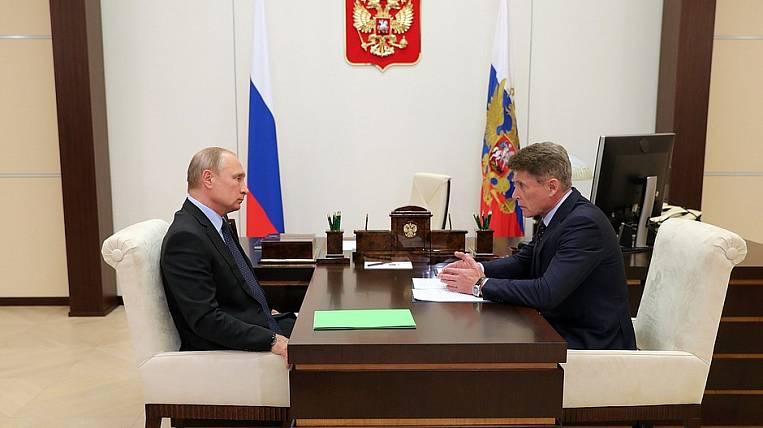 Oleg Kozhemyako, by decision of the president, became the governor of Primorsky Krai