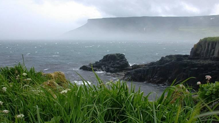 The nameless island of the Kuril ridge was named