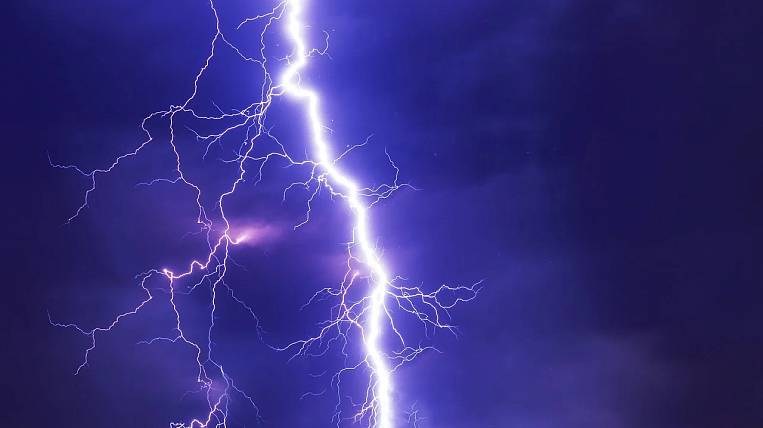 Showers with thunderstorms will fall on Jewish autonomy