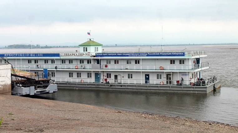 Floods stopped the river communication between Khabarovsk and Fuyuan