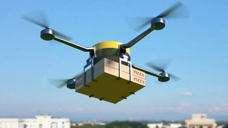 Quarantined food will be delivered to students by drones in Yakutia
