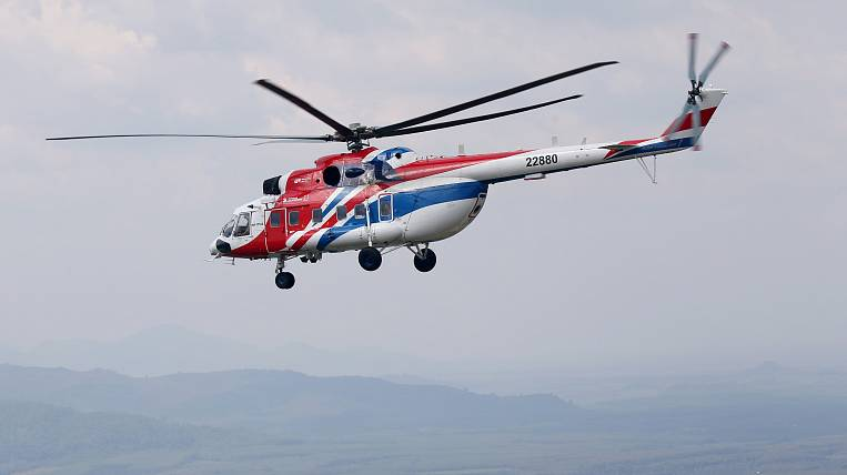 The new Mi-171A3 will be presented by the Ulan-Ude Aviation Plant at MAKS-21