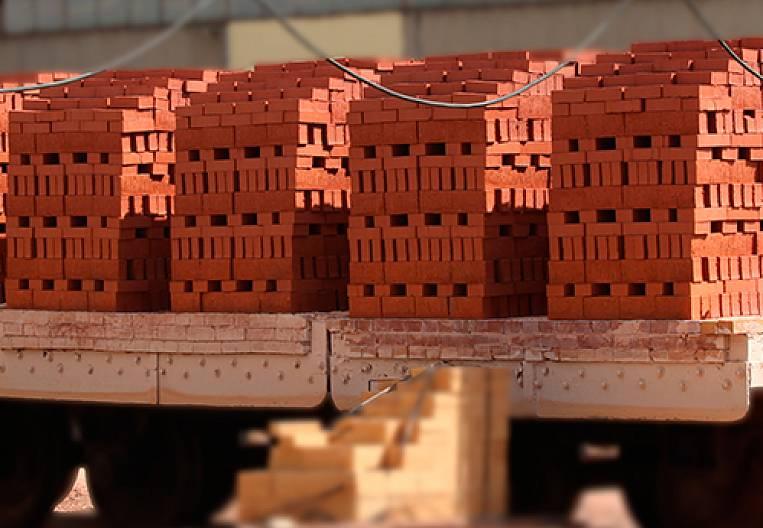 To lay a brick