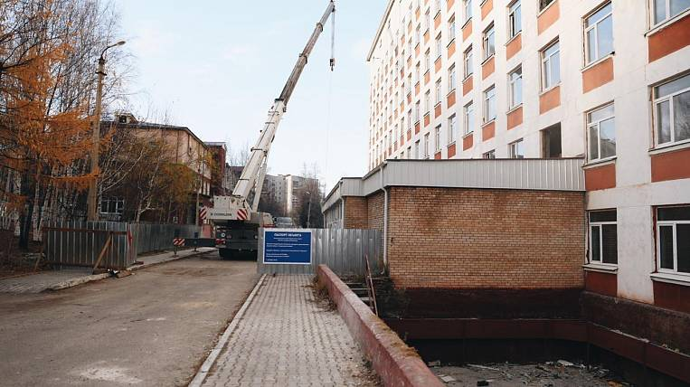 Repair of the surgical building of Tynda hospital will be completed in 2021