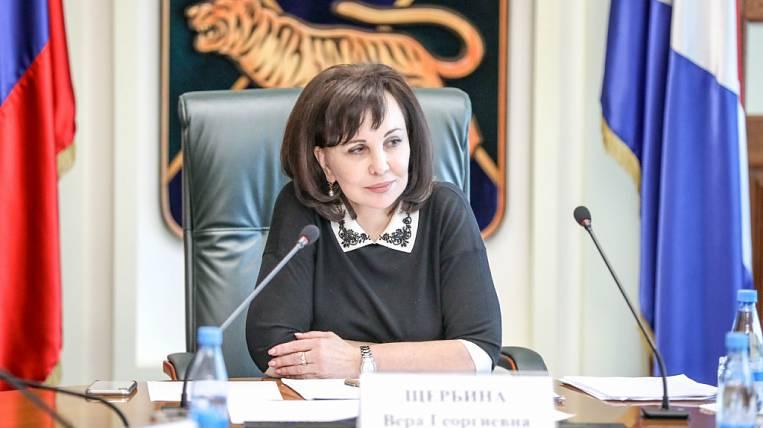 Primorye government may lead Vera Shcherbina