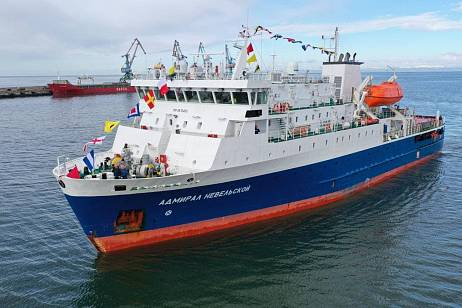 New ferry for communication with the Kuriles arrived in Sakhalin