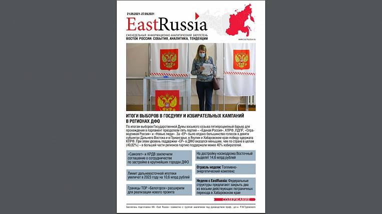 EastRussia Bulletin: election results