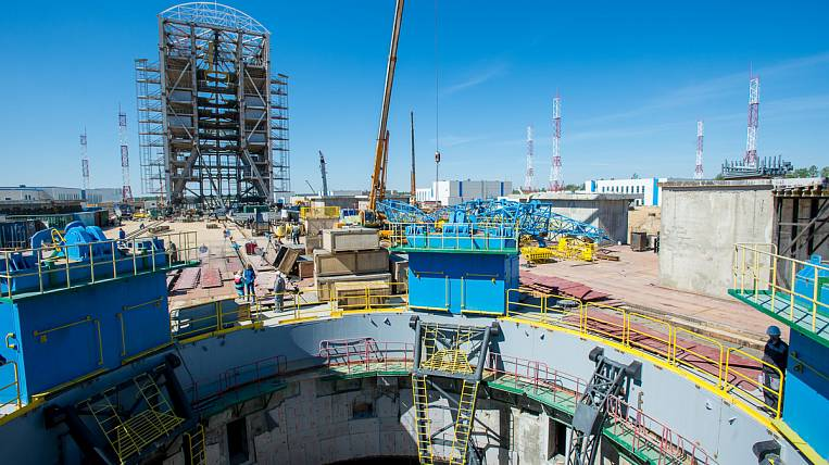 To complete the first phase of construction of the Vostochny space center by November, it will require
