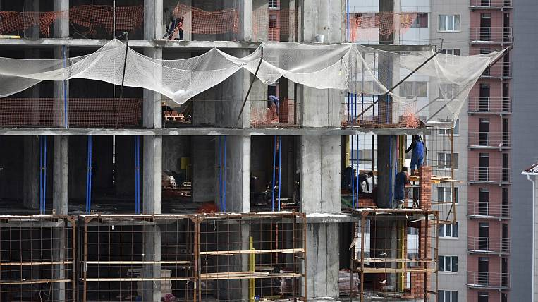 Demand for new buildings fell in Russia