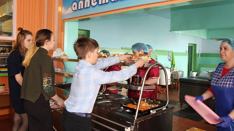 In Amur Region, funding for school meals will increase