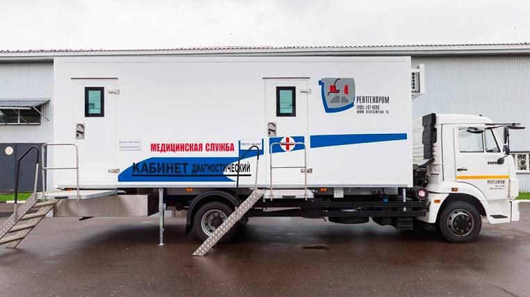 Amur Region will receive 16 mobile medical complexes for the national project