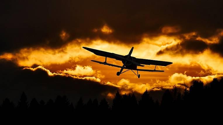 Light-engine plane crashed near Khabarovsk