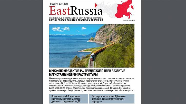 EastRussia Bulletin: Gazprom plans to export Sakhalin gas to China