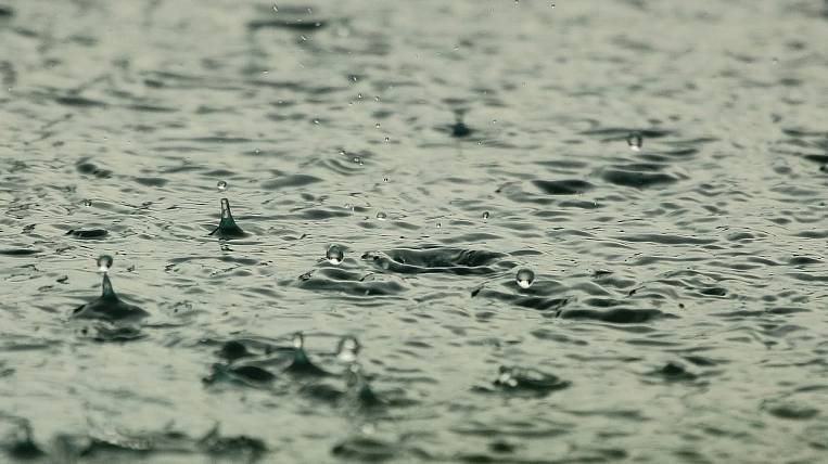 Storm warning due to rains announced in Primorye