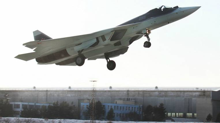 Su-57 went into a spiral before the crash in the Khabarovsk Territory