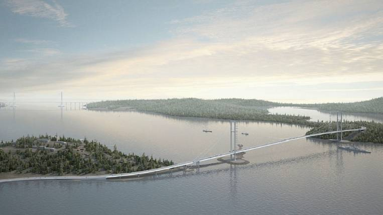 A new bridge to the Russian island will be built at the federal expense