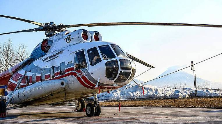Helicopter flights will again connect Kamchatka with the Northern Kuril Islands