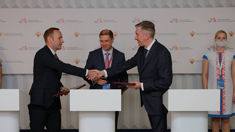 Agreement on the construction of a wind farm on Sakhalin was signed at the WEF