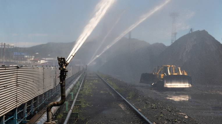 """Vostochny Port"" launched a new dust control system in Primorye"