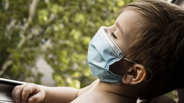 Children are more likely to get coronavirus in Russia