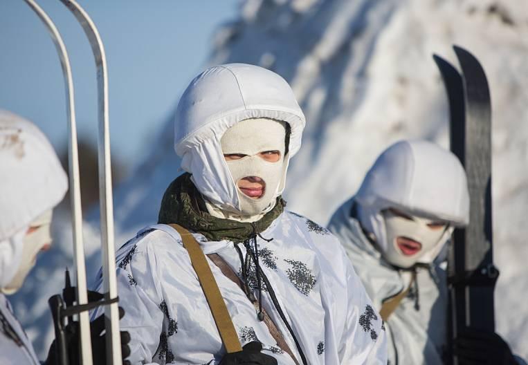 Arctic soldier