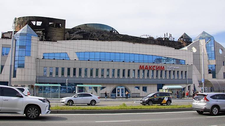 Shopping centers of Vladivostok will check after a major fire