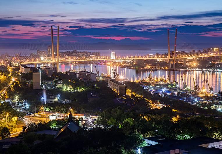 A trip across Vladivostok