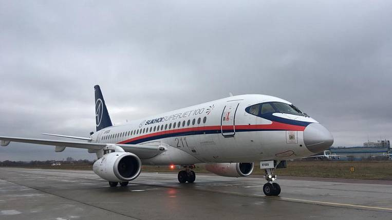 Another incident with SSJ 100 occurred at Sheremetyevo Airport
