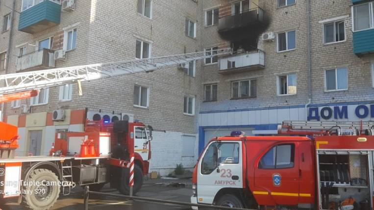 A clap of gas occurred in a high-rise building in the Khabarovsk Territory