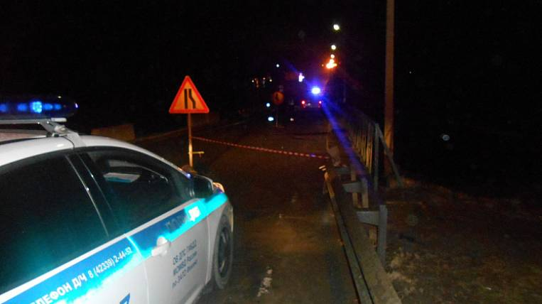The support of the bridge collapsed in the Primorsky Territory