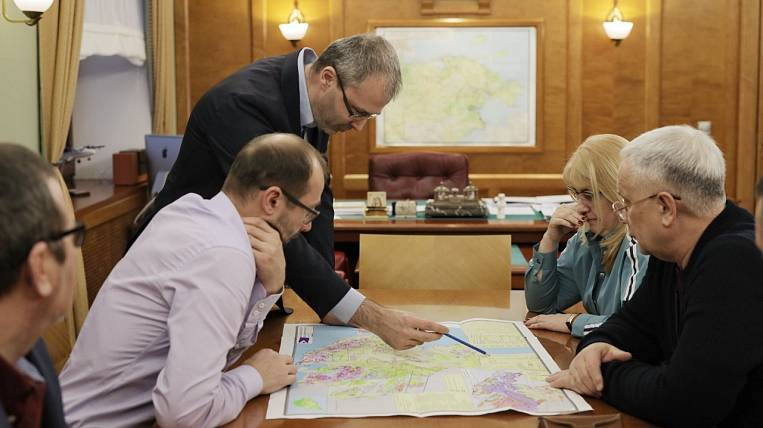 A place for the coast station of the fiber optic line is chosen in Chukotka