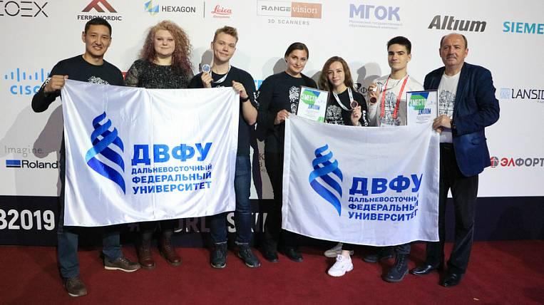 FEFU students become WorldSkills Russia winners