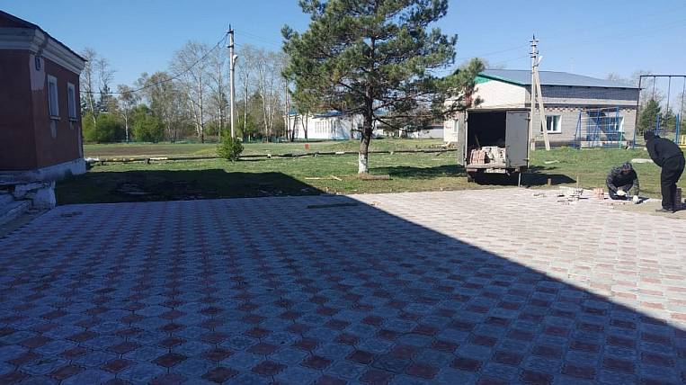Recreation area in the village will be created according to the state program in the Amur Region