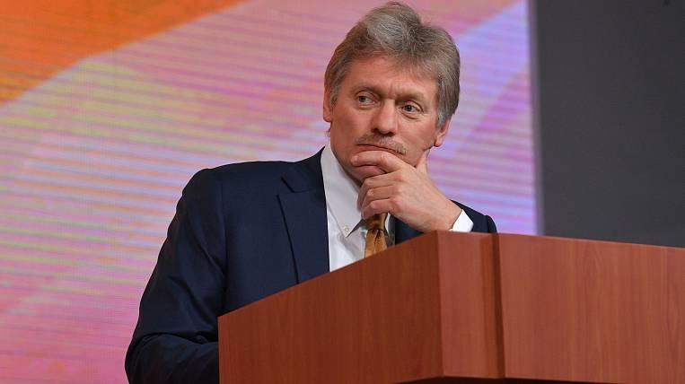 Peskov expressed hope that Russia will enter the coronavirus plateau
