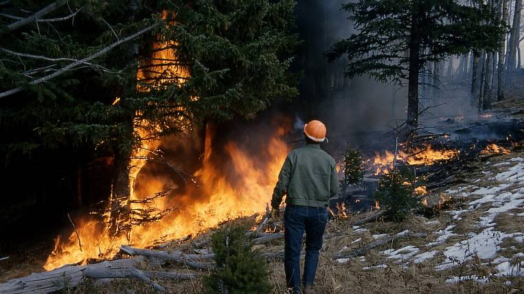 The area of fires in Chukotka has increased several times