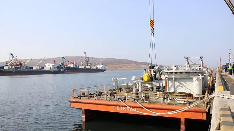 500-ton bucket loader delivered to JSC Vostochny Port