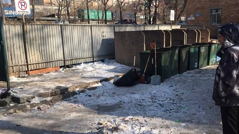 Penalties for the collapse of the garbage in Primorye rose to 7 million