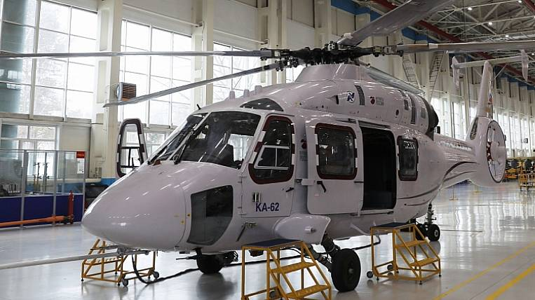 """Plant """"Progress"""" in Primorye began to build six helicopters"""