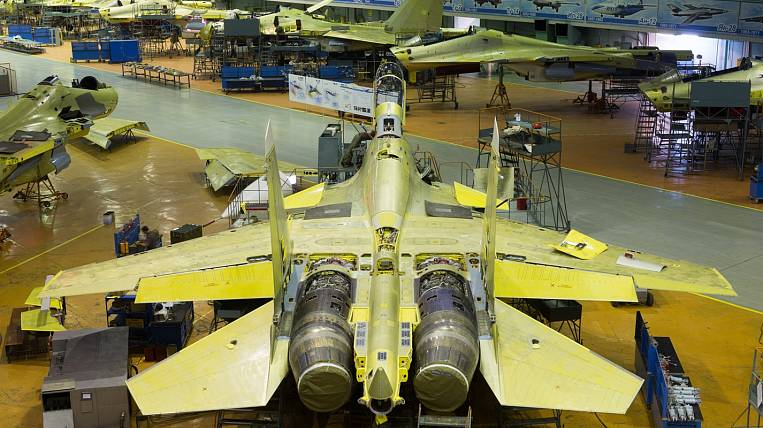 The Irkutsk aircraft plant assembled the fuselage of the first MS-21 aircraft