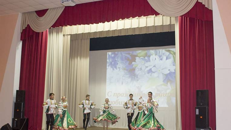 The culture house in the Amur region updated the scene according to the federal program