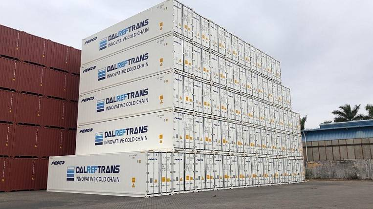 FESCO expands the fleet of refrigerated containers