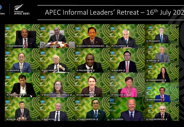 APEC Summit 2021 as an anticipation of a new reality