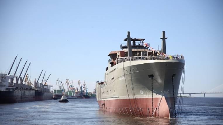 Super trawler for Far Eastern fishermen built in St. Petersburg
