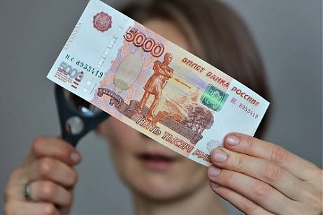 Twice as many counterfeit banknotes were found in Primorye