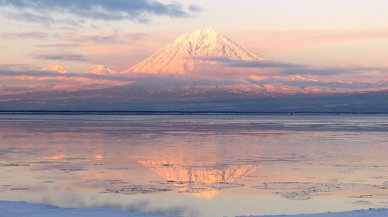 An earthquake in the Pacific touched Kamchatka