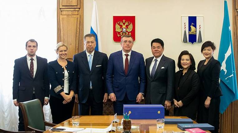Thai businessmen offered to participate in Sakhalin investment projects