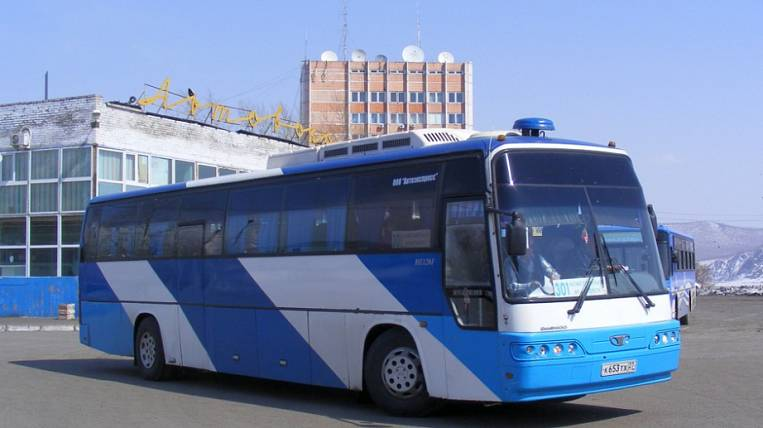On the suburban routes reduce the number of buses in the Khabarovsk Territory