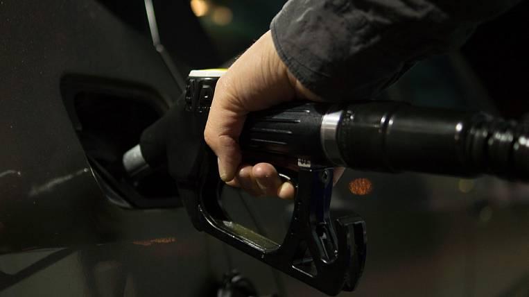 Far East lacks diesel at a gas station
