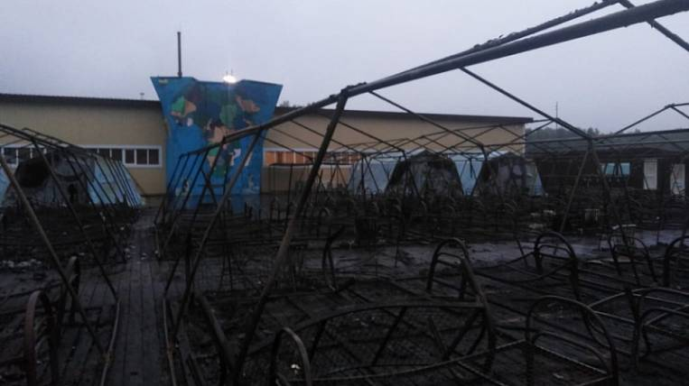 Burnt children's camp in the Khabarovsk Territory worked without permission